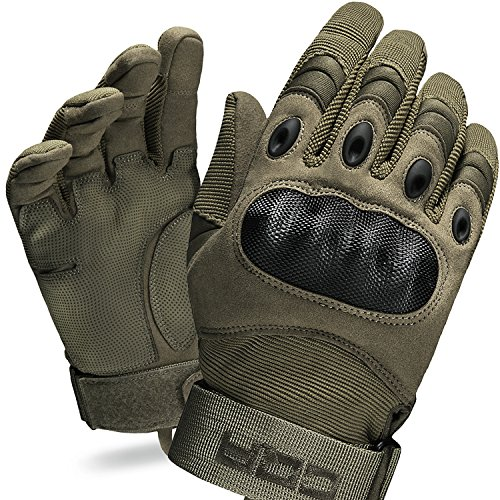 CQR CQ-TZG01-NGN_Medium Tactical Gloves EDC Outdoor Airsoft Shooting Motorcycle 100% Full Refund TZG01