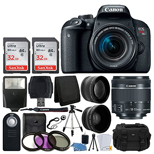 Canon EOS T7i with Accessory Bundle 6