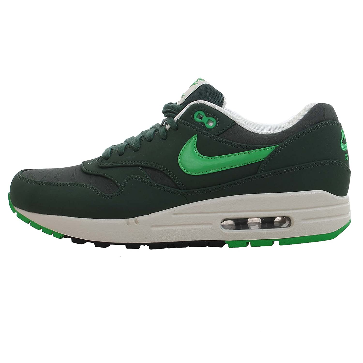 online store 363d7 d4238 NIKE Mens Air Max 1 Vintage Green Trainer Size 5.5 UK  Amazon.co.uk  Shoes    Bags