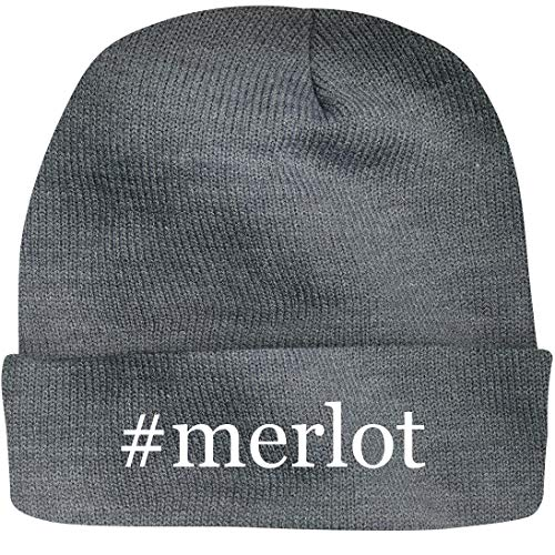 Shirt Me Up #Merlot - A Nice Hashtag Beanie Cap, Grey, -