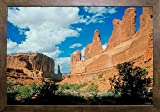 J - Arches Framed Print 18.98''x28'' by Gordon Semmens