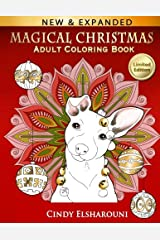 Magical Christmas Adult Coloring Book (Adult Activity Books) Paperback