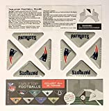 patriots football helmet for kids - 8 Pack Set of New England Patriots Tabletops. NFL Football Game - Instructions - Kids Birthday Super Bowl Game Helmet Plastic Logo Party Favors Decoration Vend Toy Ornament - Team Colors Name 2 Sided.