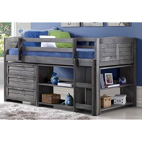 Donco Kids Twin Loft Bed: Amazon.com