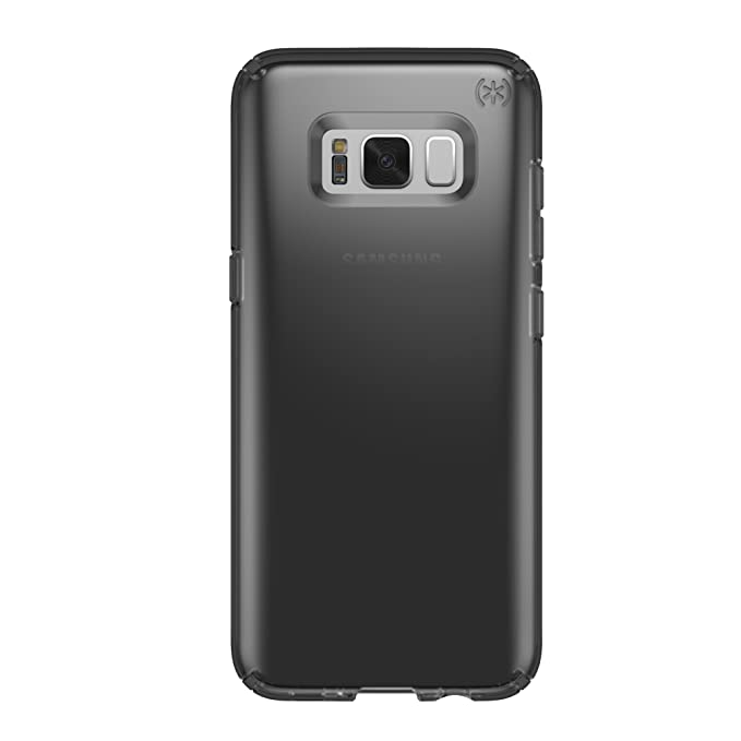buy popular 44799 94c08 Speck Products Presidio Clear Cell Phone Case for Samsung Galaxy S8 Plus -  Onyx Black Matte