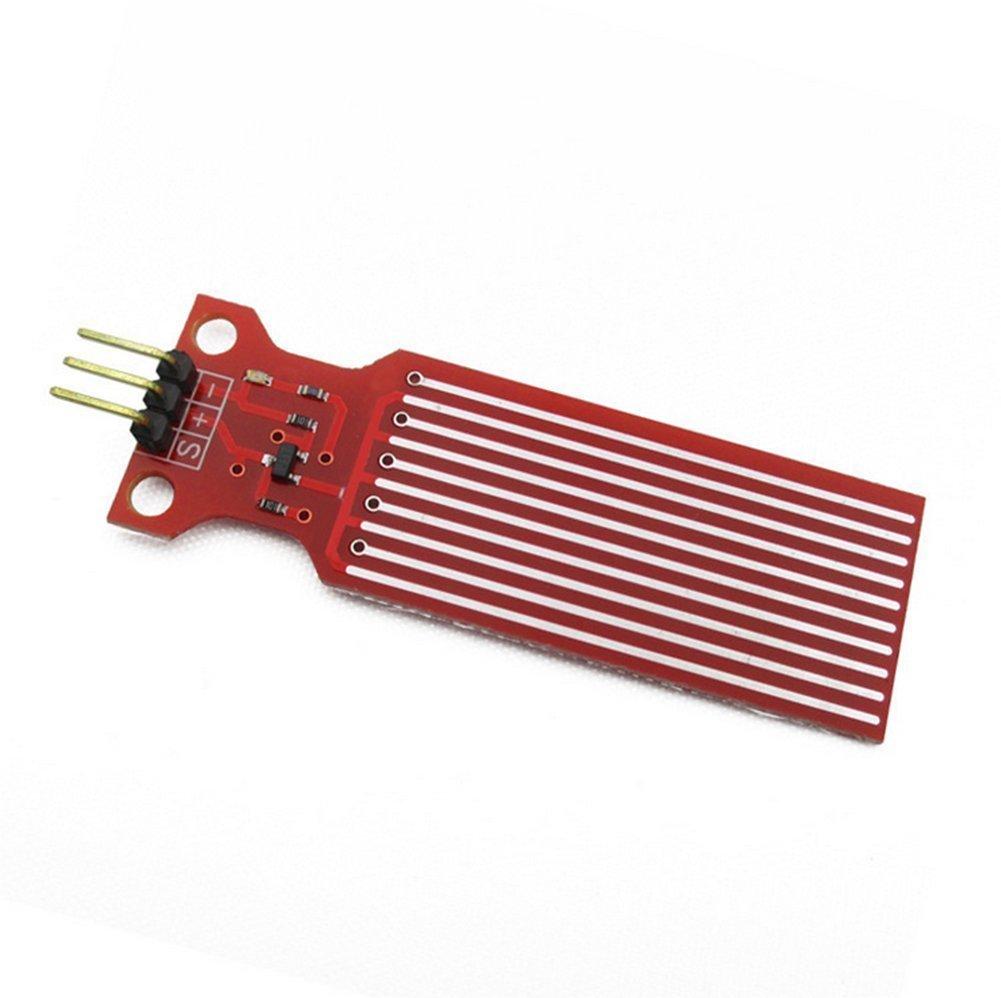 daorier mó dulo de Sensor de nivel de agua DC 3 –  5 V para Arduino profundidad de detecció n y alarma