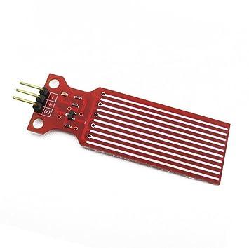 daorier módulo de Sensor de nivel de agua DC 3 - 5 V para Arduino profundidad de detección y alarma: Amazon.es: Bricolaje y herramientas