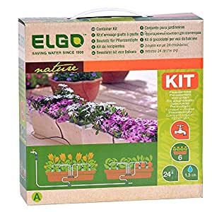Elgo 24 goteo Kit de recipiente