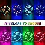 LED Strip Lights, 16.4ft RGB LED Light Strip 5050 LED Tape Lights, Color Changing LED Rope Lights with Remote for Home… 9
