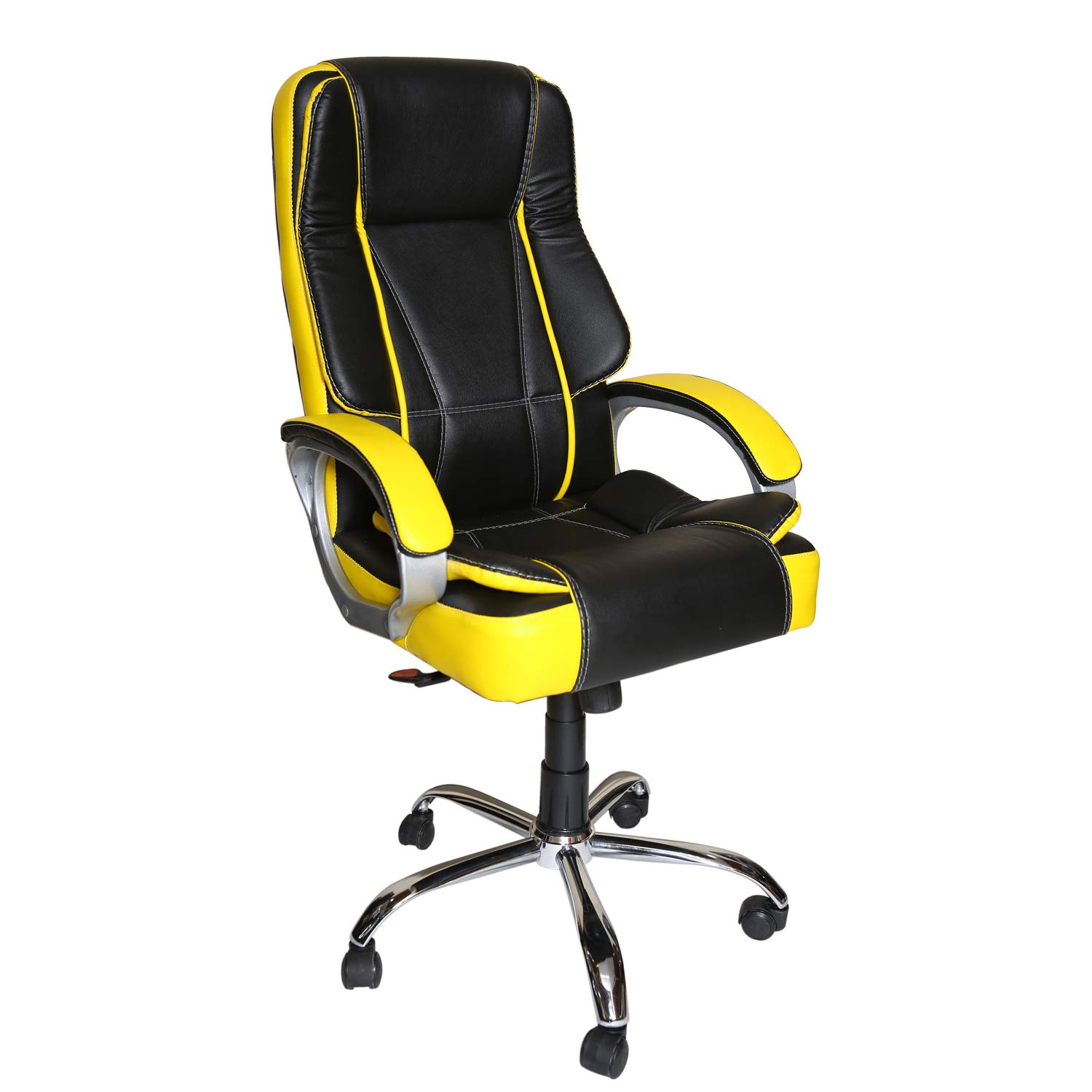 Amazon price history for CELLBELL C52 High Back Gaming Office Chair [Black & Lemon]