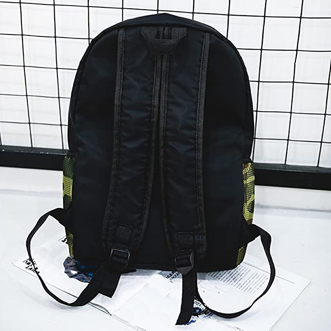 Amazon.com  BOLUOYI Cool Backpacks for Teen Girls in Middle School Leisure  Zipper Bag Student Backpack Folding Bag Shoulder Bag Couple Travel Bag  Toys    ... 230c772ea4914