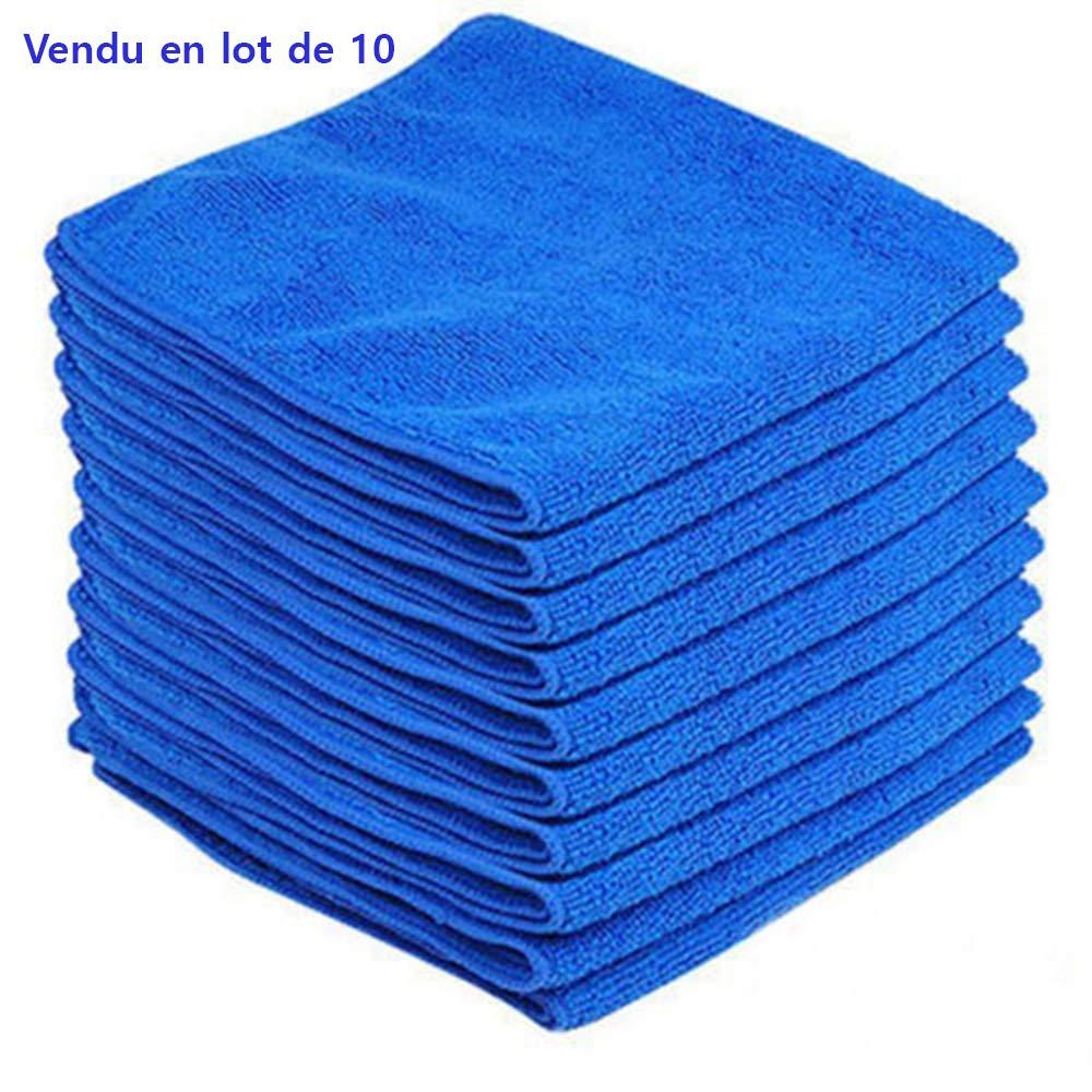 Chiffonette en microfibre pour le nettoyage 20 20 cm S/échage Rapide Absorbante TOOTLESHOP