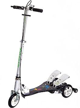 Amazon.com: ped-run Kids pedaleo Scooter – ejercicio ...