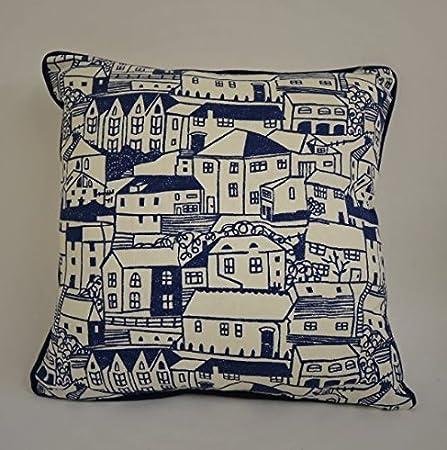 IndigoIvory Cushion Cover Pillow