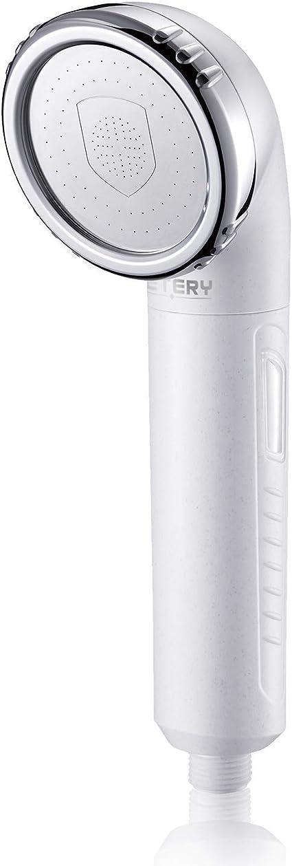 JETERY cabeza de ducha filtro de agua filtrada, voer 99% cloro ...