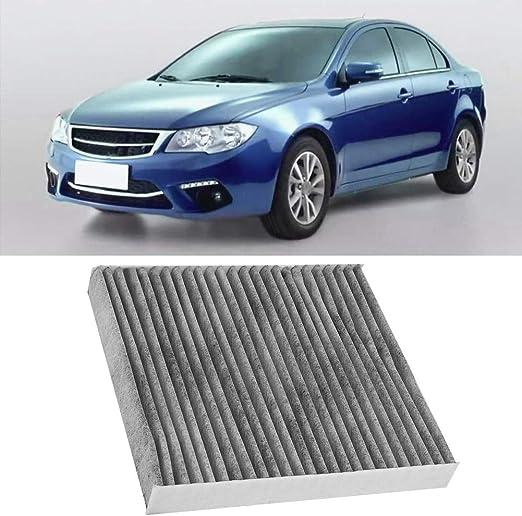 Tela de carb/ón activado Kimiss Filtro del aire acondicionado del coche Auto cabina antipolen N/úmero OEM 7803A004