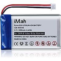 Replacement for Infant Optics DXR-8 Video Monitor Unit Battery Sp 803048 1200mAh Li-ion 3.7V Rechargeable