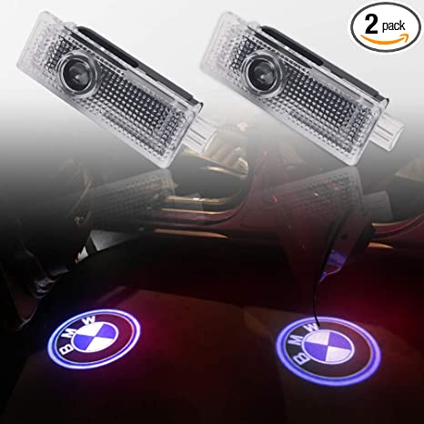 For BMW 4pack Car Door Welcome Logo Light 4Pcs Car Door Courtesy LED Light Projector Shadow Logo Welocome Light for Mercedes Benz GLA