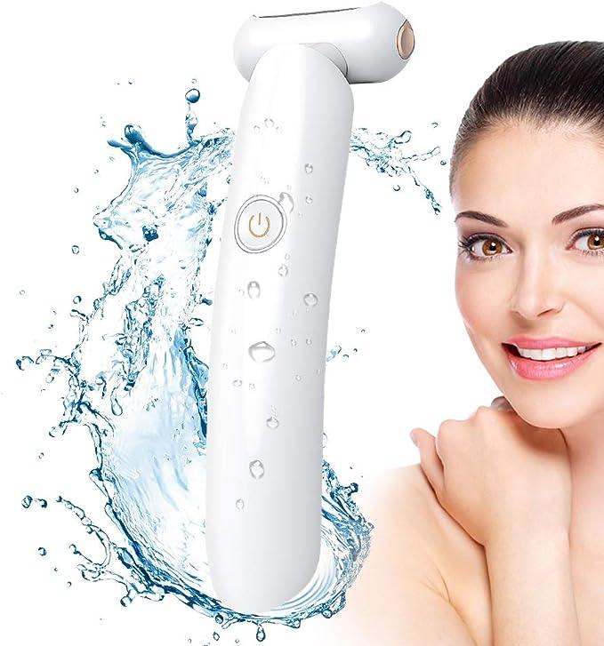 Depiladora Electrica Mujer Wet & Dry Impermeable Bikini Rasuradora USB Recargable para Piernas y Axilas, la Línea del Bikini: Amazon.es: Salud y cuidado personal