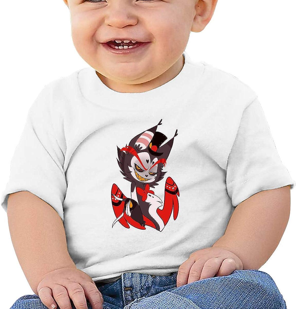Kangtians Baby Hazbin Hotel Husk Shirt Toddler Cotton Tee
