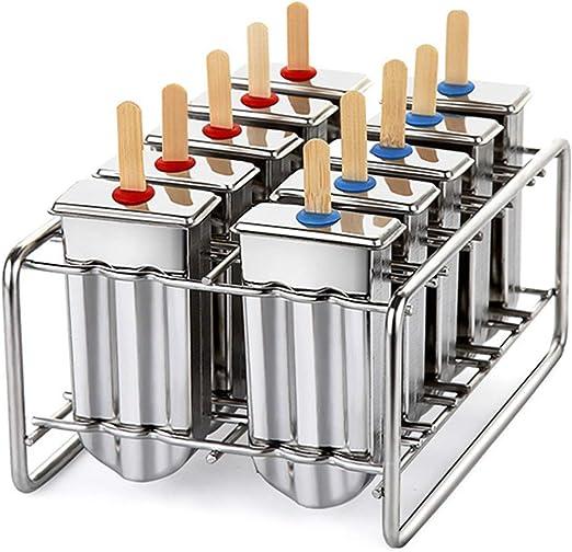 100 Tubes Ice Cream Maker Vintage Frozen Popsicle Stainless Steel *Free 5 tube*