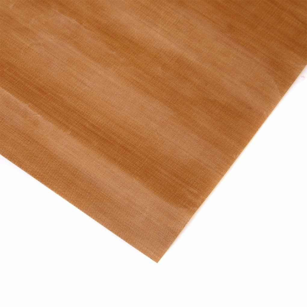 Jinzuke Reutilizable Antiadherente Papel de Horno de Alta Temperatura de tefl/ón Resistente Hoja Horno Microondas Grill Hornear Mat 40 x 33 cm