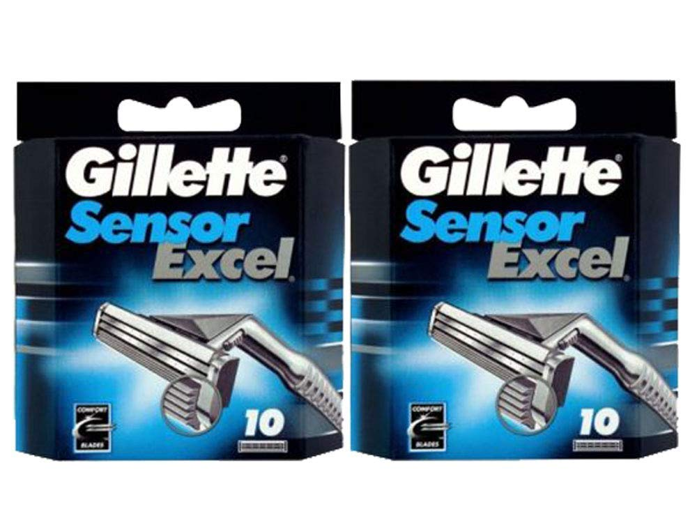 Gilletté Sensor Excel Refill Cartridges 20 Count 5510