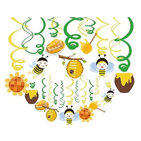 Sayala 30Piezas Bumble Bee fiesta de cumpleaños,Abeja ...