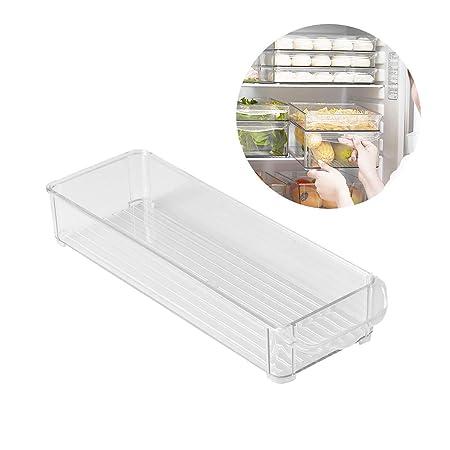 TOPBATHY - Bandeja de Almacenamiento para refrigerador, Resistente ...