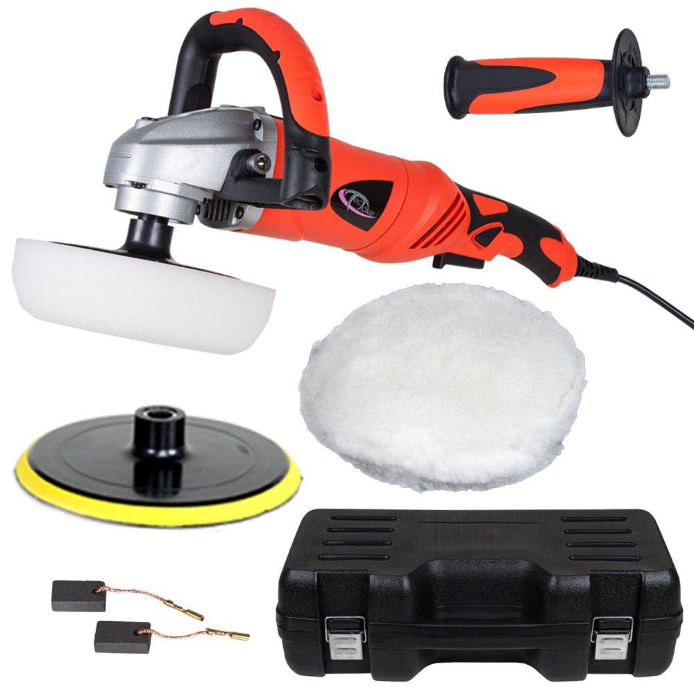 TecTake Máquina Pulidora Limpieza Profesional 1400W 0-3000 rpm: Amazon.es: Bricolaje y herramientas