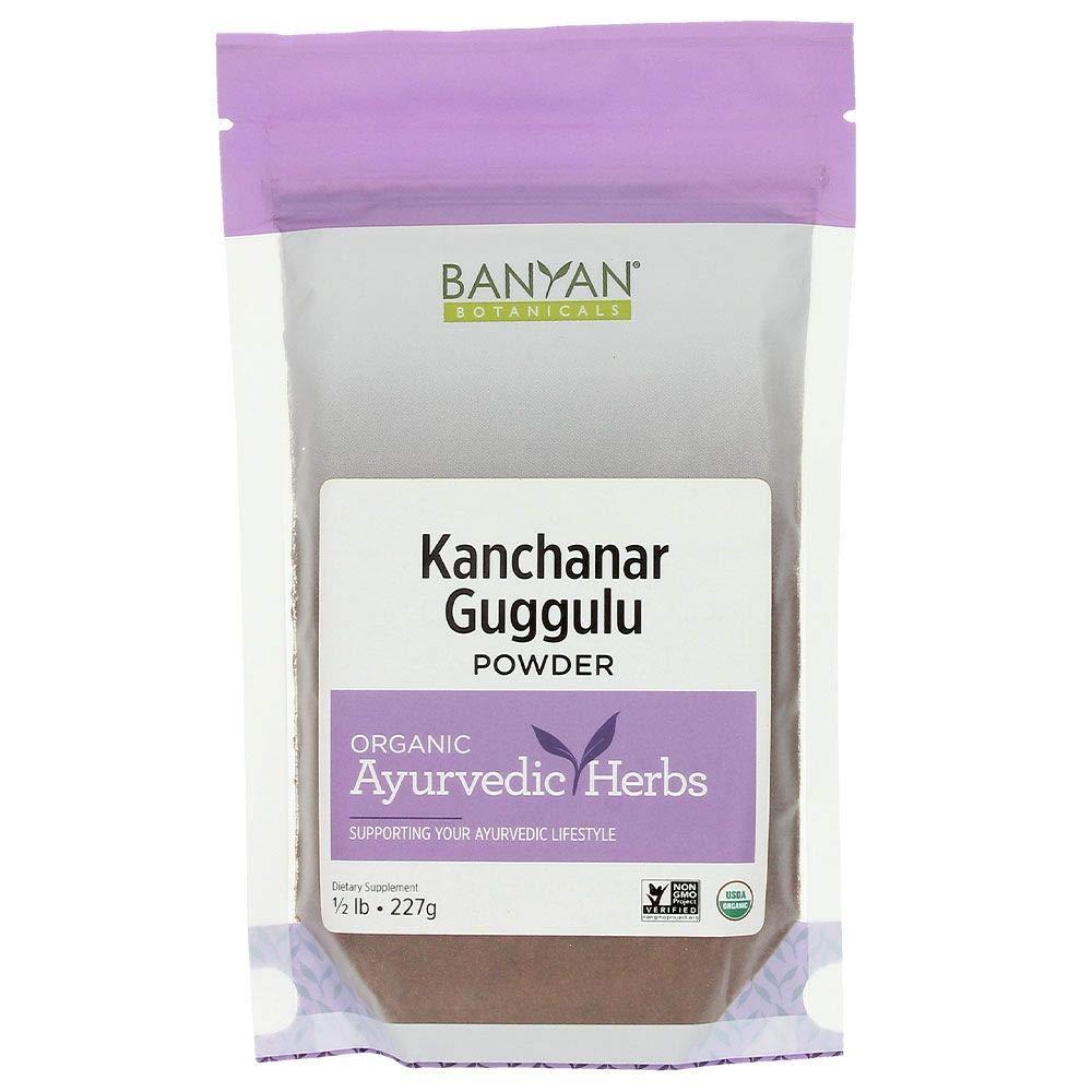 Banyan Botanicals Kanchanar Guggulu - USDA Organic 1/2 Pound- Energizing Ayurvedic Herbs for Thyroid & Lymphatic Wellness* by Banyan Botanicals