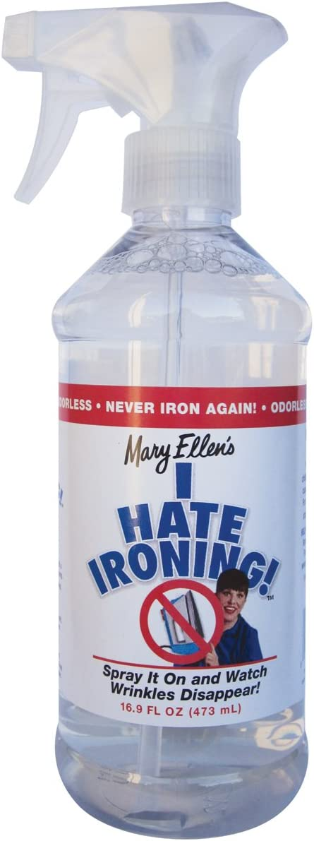 Mary Ellen Products I Hate Ironing Spray Wrinkle Remover, 16 -Ounce
