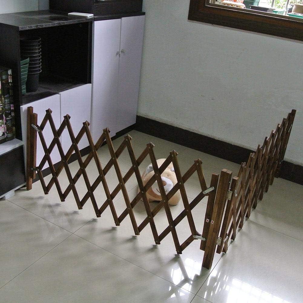 bestlle Puerta de Madera carbonizada para Mascotas, Puerta ...