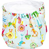 Mee Mee Reusable Baby Cloth Diaper with Adjustable Snap Buttons, Blue