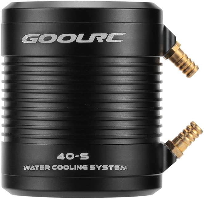 GoolRC Original Aluminum 40-S Water Cooling Jacket Cover for 4074 4082 RC Boat Brushless Motor