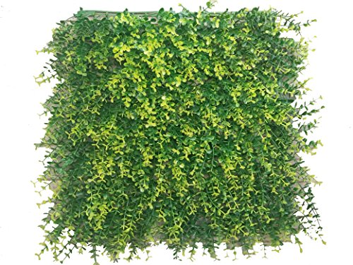 Cheap  Artificial Topiary Hedge Plant Privacy Fence Screen Greenery Panels for Both Outdoor..