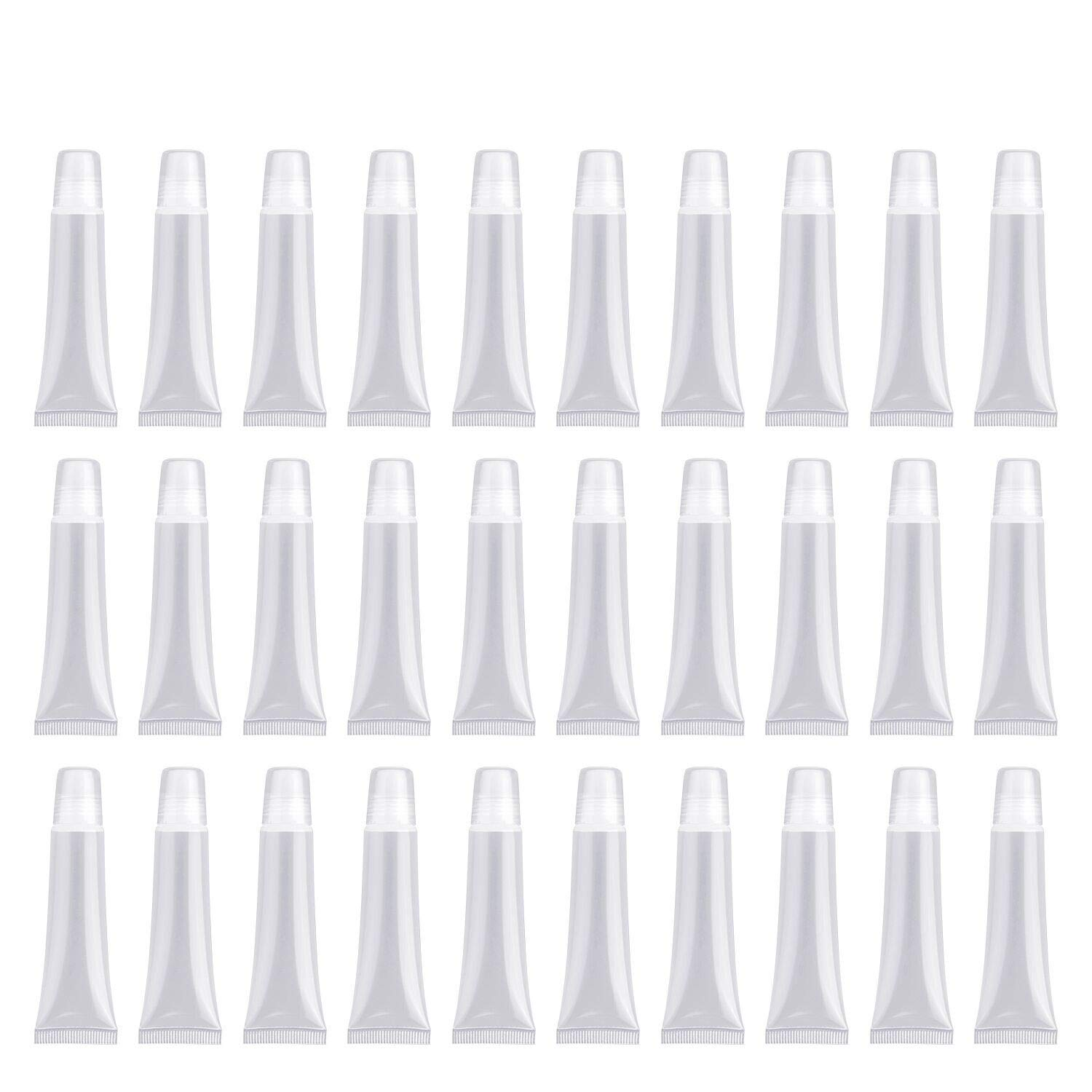yiwoo 15ml 30pcs Empty Tubes Lip empty lip gloss containers for Lip Gloss Balm Cosmetic,Lip Balm Tube