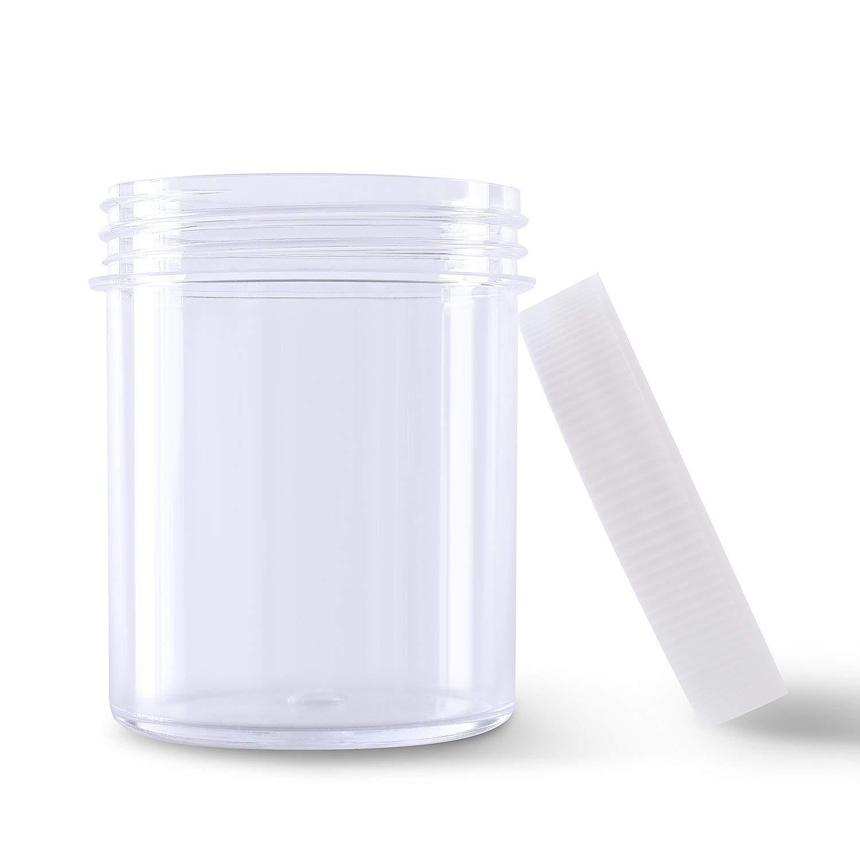 INTVN 6 Pezzi Slime Contenitore - ontenitori per Slime Sfera della Schiuma - 120 g di capienza