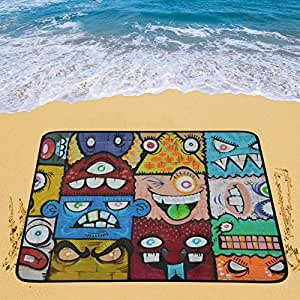 Happy más personalizados arte de la calle portátil y plegable (60x 78cm