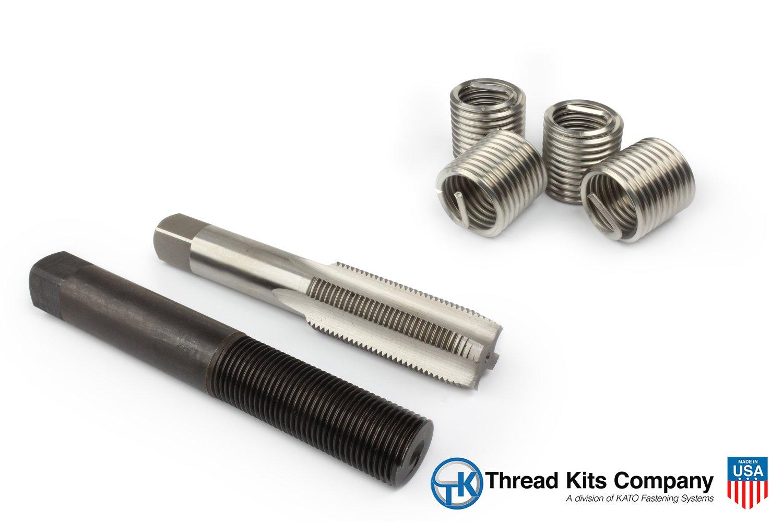 Perma Coil 3208-C20 Thread Repair Kit 1 1/4-7 4PC Helicoil 5521-20