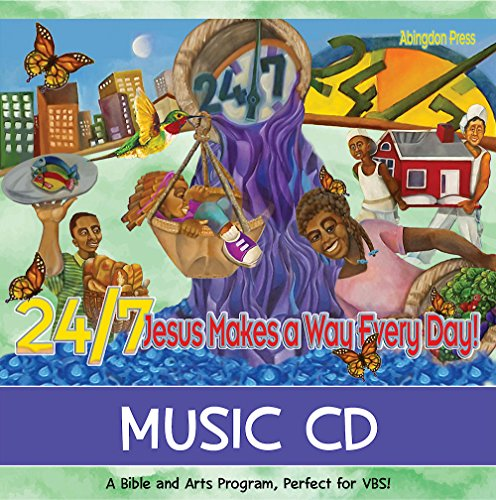 Vacation Bible School (VBS) 2018 24/7 Music CD: Jesus Makes a Way Every Day! by Abingdon Press