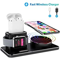 Joyeky 3-in-1 Wireless Charging Stand for iPhone Xs Max/Xs/XR/X/8/8 Plus