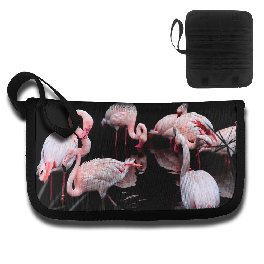 Gili Flamingo Family On The Lake Travel Passport /& Document Organizer Zipper Case