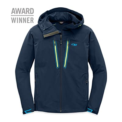 Outdoor Research Men's Ferrosi Summit Hooded Jacket & Knit Cap Bundle