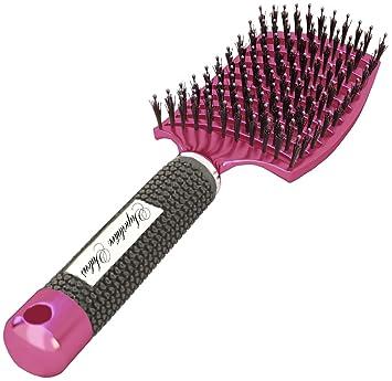 Amazon Com Boar Bristle Brush Best At Detangling Thick Hair