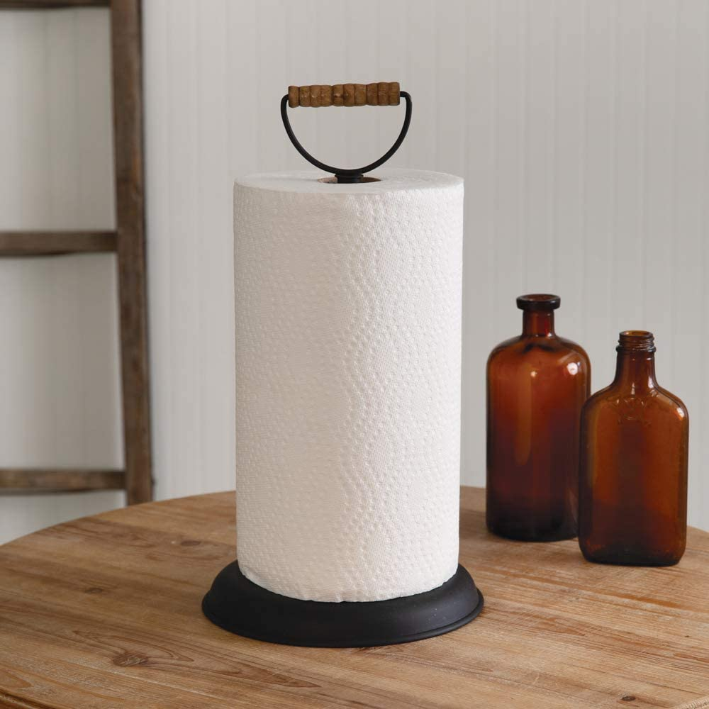 CTW Home Collection 370463 Homestead Paper Towel Holder, 14-inch Height