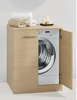 Mobile bagno copri lavatrice in 30 colori porta lavatrice: Amazon ...