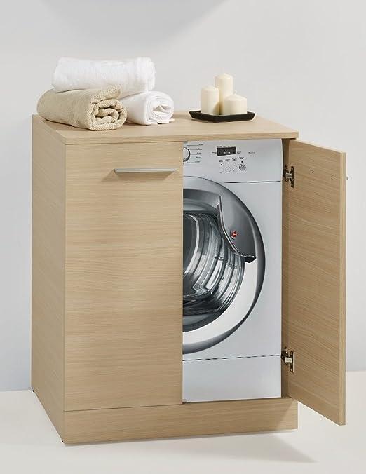 Armario para lavadora con puerta: Amazon.es: Hogar