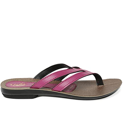 a4a180b7126f PARAGON SOLEA Women s Pink Flip-Flops  Buy Online at Low Prices in India -  Amazon.in