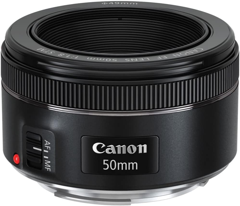 T5i Canon EF 50mm f//1.8 STM Lens Bundle with Manufacturer Accessories /& Accessory Kit for EOS 7D Mark II Rebel T6s 70D T2i T6 80D 20D SL1 30D T3 50D 40D T5 T1i T3i T4i 60D T6i 7D